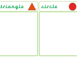 Shape Hunt (Circles and Triangles)