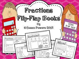 A Fractions Flip Flap Book for IB PYP and CCSS