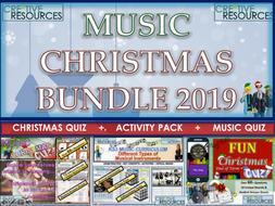 Music Christmas 2019 Bundle