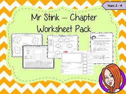 Mr Stink Worksheet Pack