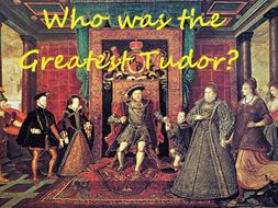 5. Was Queen Elizabeth I a saint? KS3 Who was the greatest Tudor?