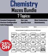 Chemistry: Science Maze Bundle
