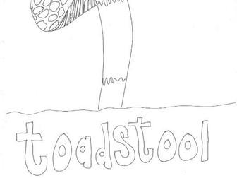 Toadstool (Woodland Habitats)