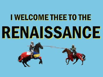 Introduction to the Renaissance: Power Point Presentation