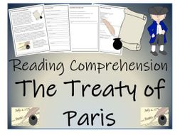 UKS2 History - The End of the Revoultionary War & The Treaty of Paris Reading Comprehension