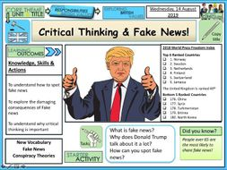 Critical thinking and Fake News
