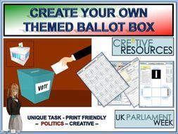 Politics Ballot box