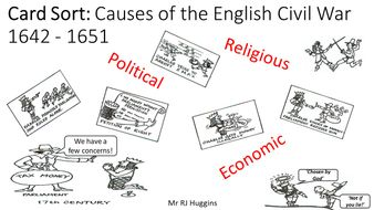Card-Sort---Causes-of-the-English-Civil-War.pptx