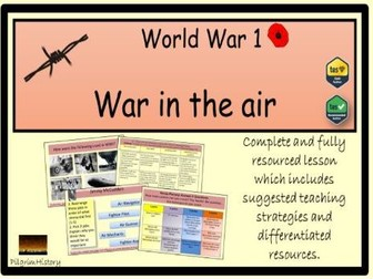 World War 1 in the air