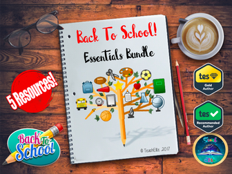 Back To School : Back to School Essentials