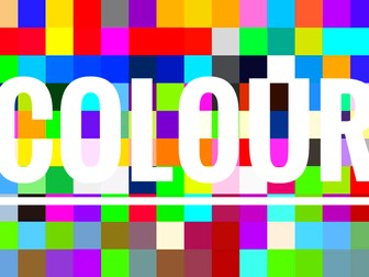 Colour  Art and Science. A STEAM resource