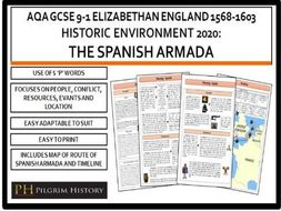 Spanish Armada Revision Guide AQA GCSE 9-1