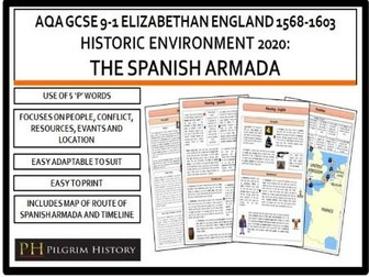 Spanish Armada Revision Guide AQA GCSE 9-1