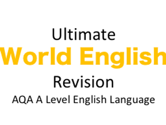 world english student example essay  a level english language by  world english revision and example essay  a level english language new spec