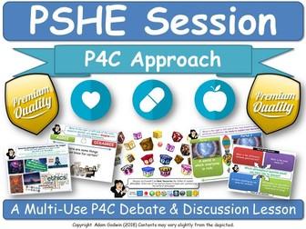 Community & Citizenship PSHE Session [P4C PSHE, PSE]