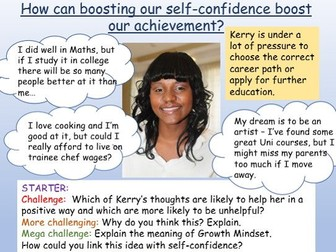 Confidence, Achievement + Behaviour PSHE