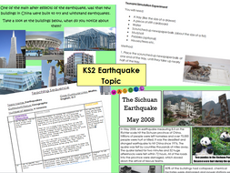 KS2 Geography Earthquakes