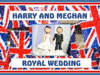 Harry and Meghan Royal Wedding Teaching Resources Pack