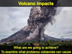 IGCSE Edexcel Geography - Hazardous Environments - Volcano Impacts
