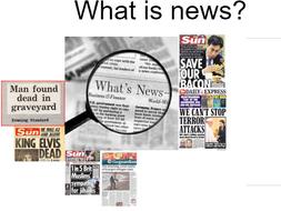 News Values Lesson 1