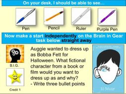 5 Starter Activities for the book Wonder (Year 7 English)