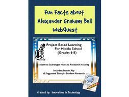 Fun Facts about Alexander Graham Bell - Internet Scavenger Hunt