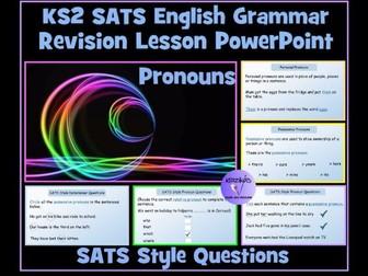 Pronouns: Personal, Possessive and Relative Pronouns - English SATS Revision