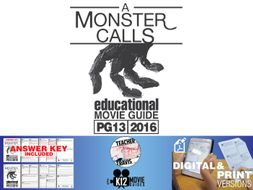A Monster Calls Movie Guide | Questions | Worksheet (PG13 - 2016)