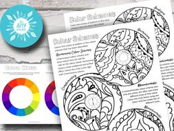 Colour Theory Art Lesson
