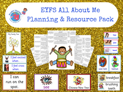 All About Me/Ourselves - EYFS Planning and Resources