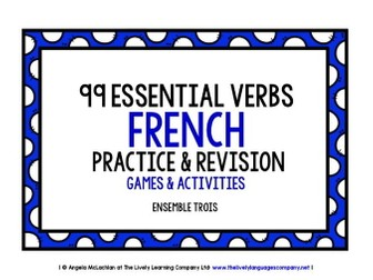 FRENCH VERBS PRACTICE & REVISION 99 VERBS (3)