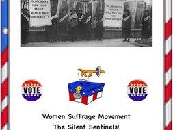 Women's Suffrage: The Silent Sentinels(A Reading Passage/Activity)