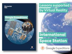 International Space Station #GoogleExpeditions Science KS2