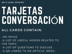 Speaking cards Spanish AS/A LEVEL