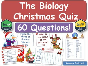 Biology Christmas Quiz!