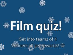 Guess the Film Quiz for Film/Media students -Mise en scene and Cinematography Questions included!