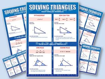 GCSE Trigonometry (Poster)