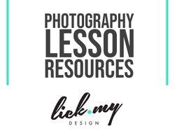 Photography Knowledge Organiser 1