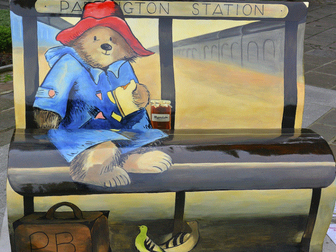 Paddington Bear lessons based on clips from first film.