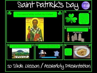 Saint Patrick's Day Presentation
