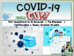 Covid -19 Quiz - Coronavirus Back to School