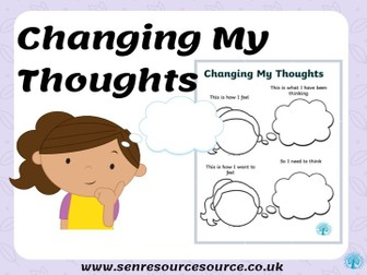 Changing my thoughts worksheet