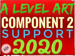 A level Art Exam 2020 -SUPPORT RESOURCES