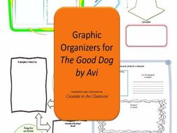Graphic Organizers Plus Crossword Puzzles  for The Good Dog