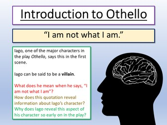 Othello Introduction