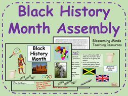 Black History Month Assembly - October