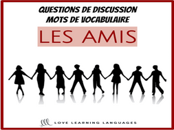 Les Amis - Advanced French conversation questions about friends