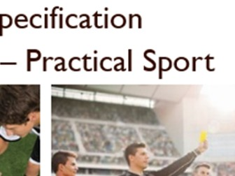 BTEC Level 3 Sport (2016) New Specification Unit 7 Learning Aim A