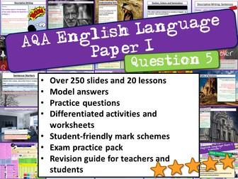 AQA English Language Paper 1 Question 5