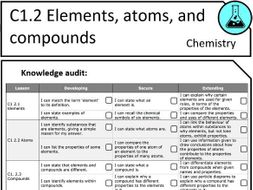 "KS3 Chemistry Topic Sheets - Based on ""Activate"""